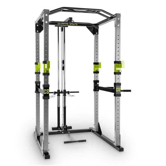 Tremendour máquina de pesos Home Gym com torre lateral