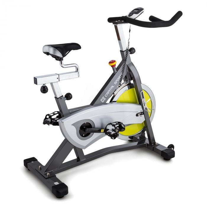 Radical Arc S18 Ergo-pyörä 18 kg liikemassa