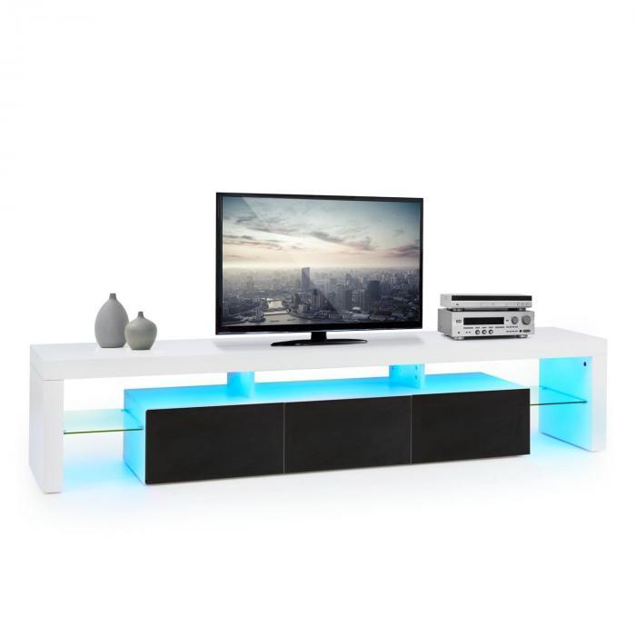 Orlando Lowboard TV Board LED-Stimmungslicht Fa...