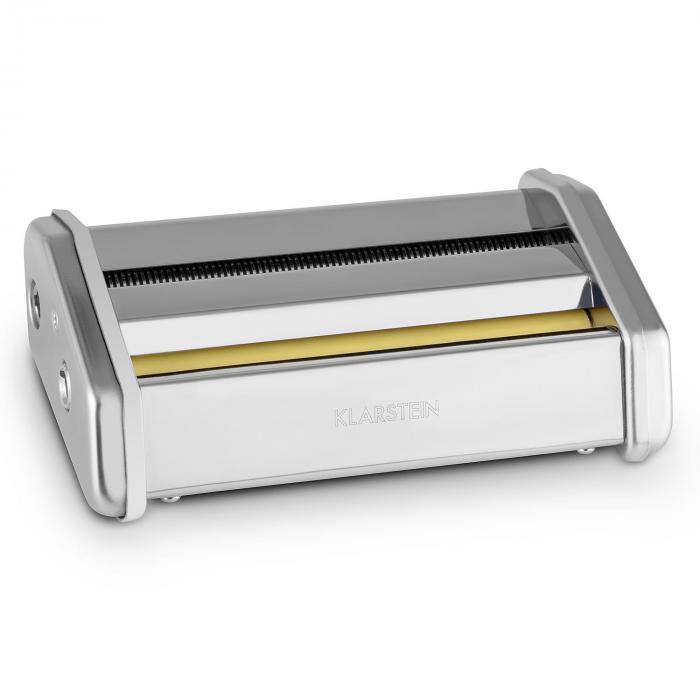 Klarstein Siena Pasta Maker Nasadka do makaronu Osprzęt Stal szlachetna 1mm & 12mm