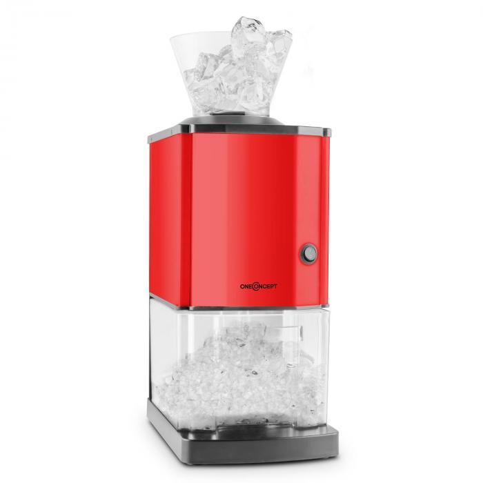 Icebreaker Picadora de hielo 15kg/h 3,5l Acero inoxidable Rojo