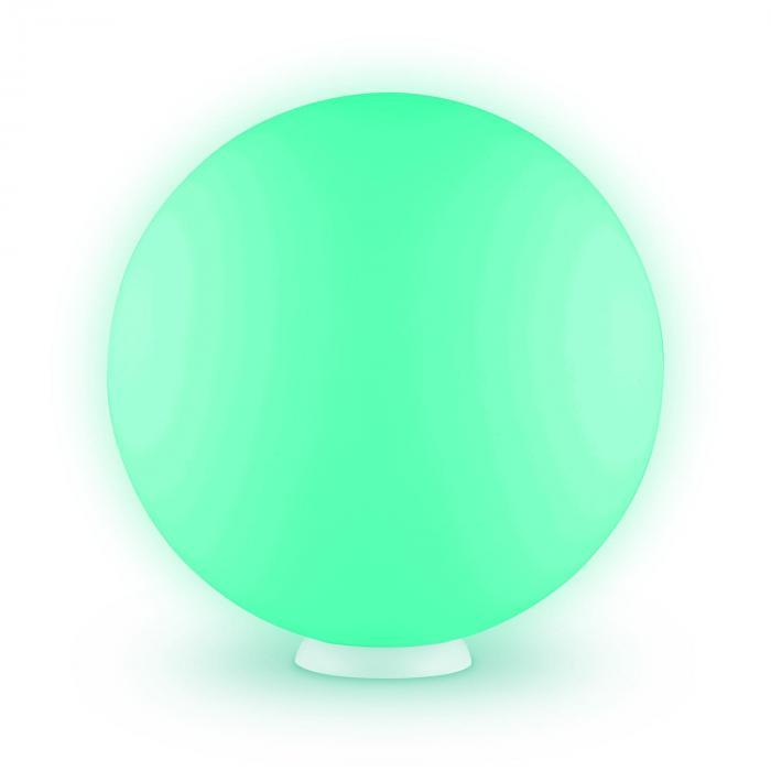 Sfera LED Galleggiante 50cm Sfera Luminosa LED RGB Batteria Telecomando
