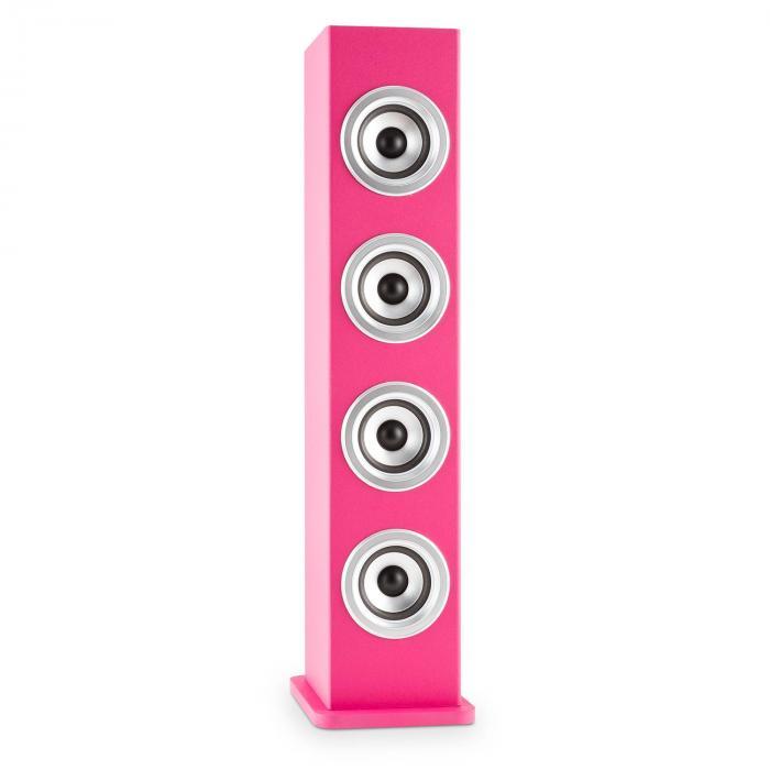Karaboom PK LED Altavoz Bluetooth USB AUX VHF Karaoke 2x micrófonos