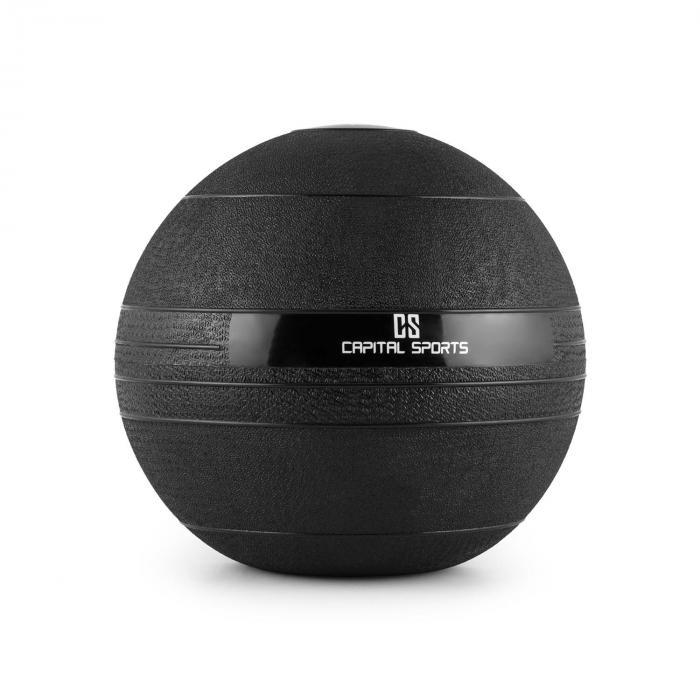 Groundcracker Slamball schwarz Gummi 8kg