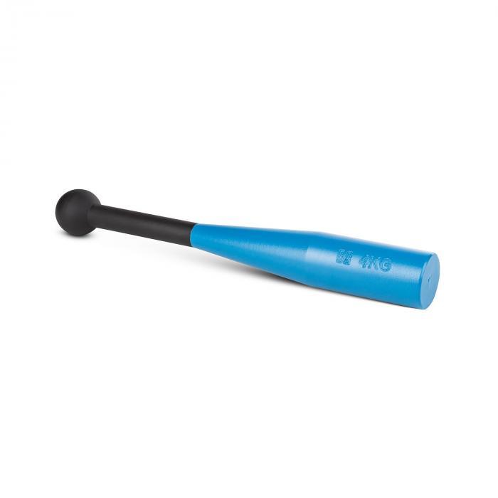 Bludgeon Clubbell voimakeila musta/sininen teräs 4 kg