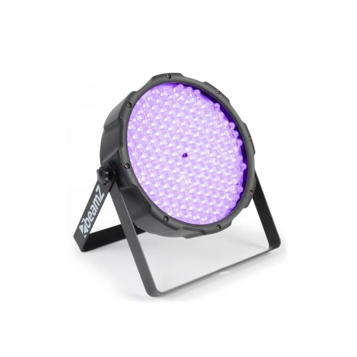 FlatPAR 186 x 10mm PAR-valonheitin UV LED DMX