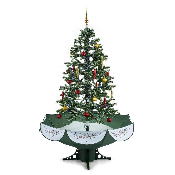 everwhite green schneiender weihnachtsbaum 180cm led musik gr n online kaufen elektronik star de. Black Bedroom Furniture Sets. Home Design Ideas