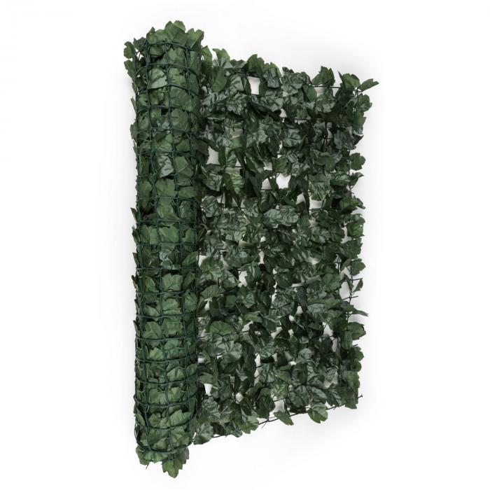 Fency Dark Ivy Recinto Privacy Antivento 300x100 cm Edera Verde Scuro