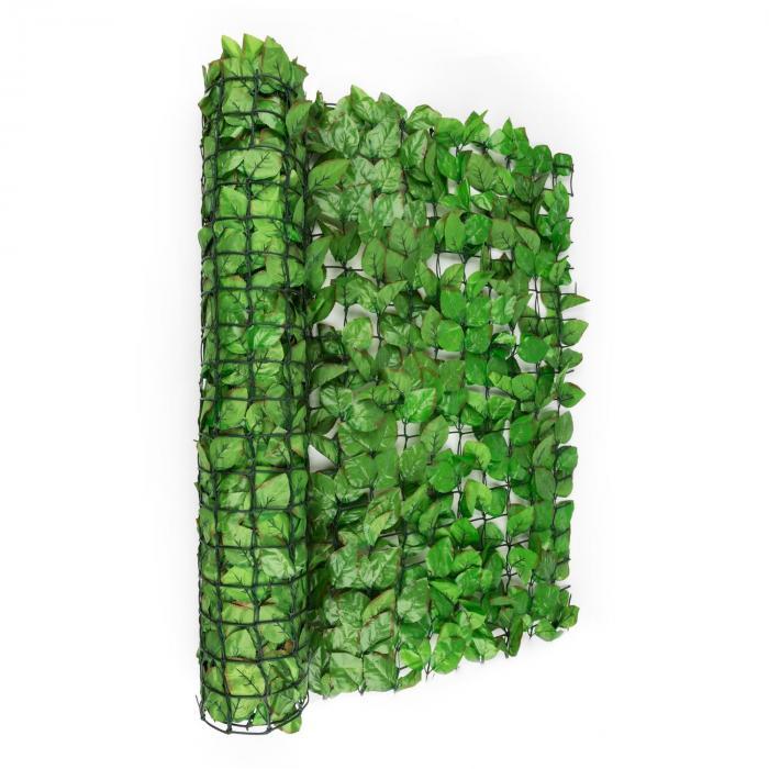 Fency Bright Leaf näkösuoja 300x150 cm pyökki, vaaleanvihreä