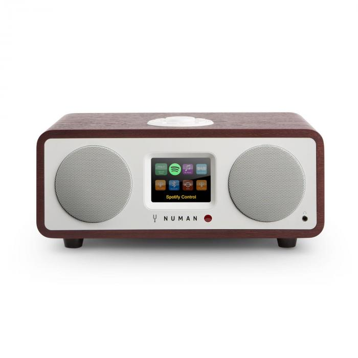 One – 2.1 Design WebRadio 20W Bluetooth Spotify Connect DAB+ Palissandro Scuro