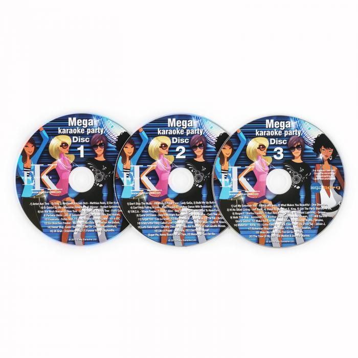 Karaoke CD + G Set 3-Piece