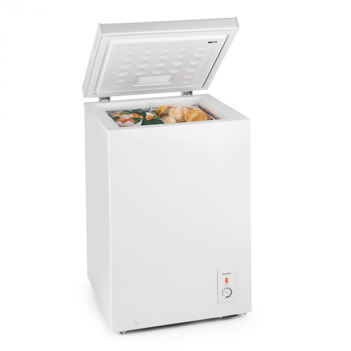 Iceblokk frysbox frysskåp 100l 75W A+ vit