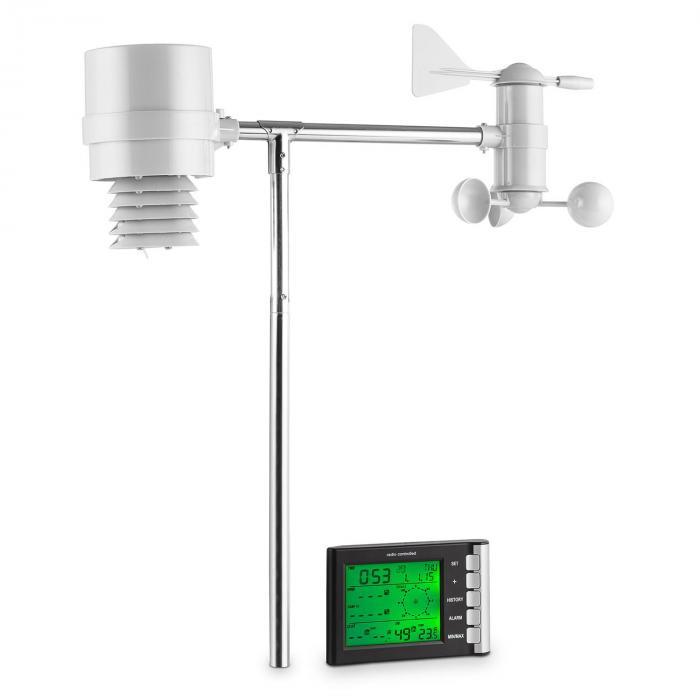 Montgolfier 100m trådlös väderstation LCD-Display