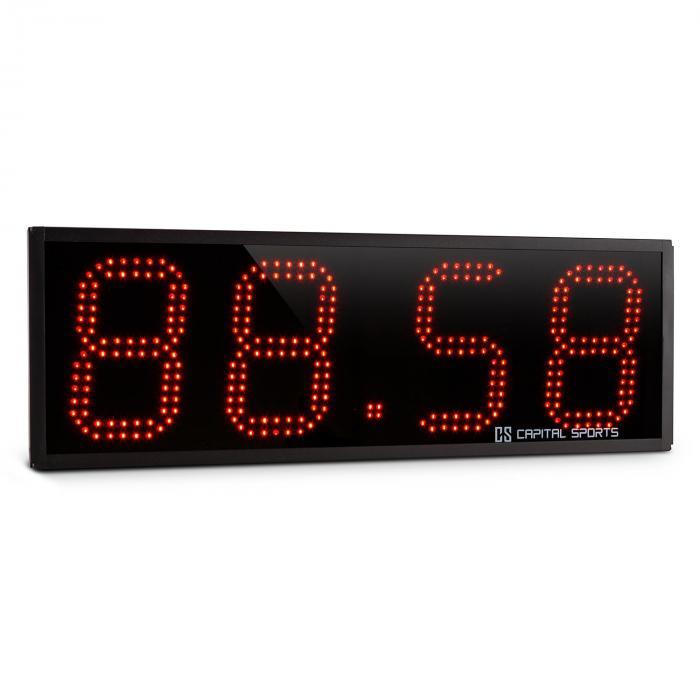 Capital Sports Timeter czasomierz sportowy stoper tabata sekundomierz Cross-Training 4-cyfrowy sygnał dźwiękowy