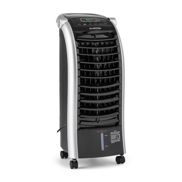 Maxfresh BK Ventilatore Rinfrescatore d'Aria 6L 65W Telecomando 2 x Siberini