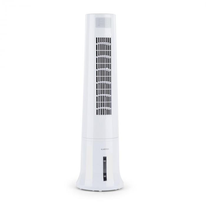 Highrise 3 in 1 -jäähdytyslaite 35 W ilmankierto max. 530 m³/h 2,5 l kylmävaraaja valkoinen