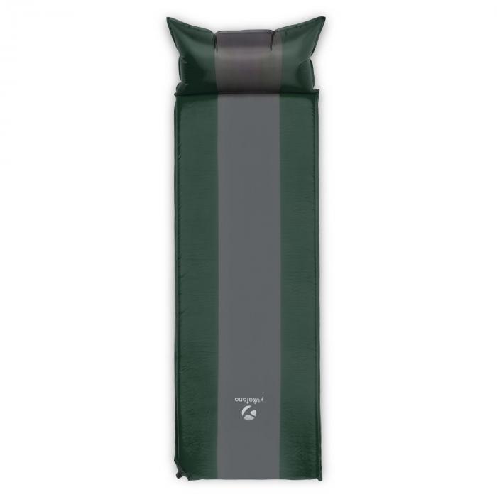 Goodsleep 7 Isomatte Luftmatratze 7cm dick selbstaufblasend grün / grau