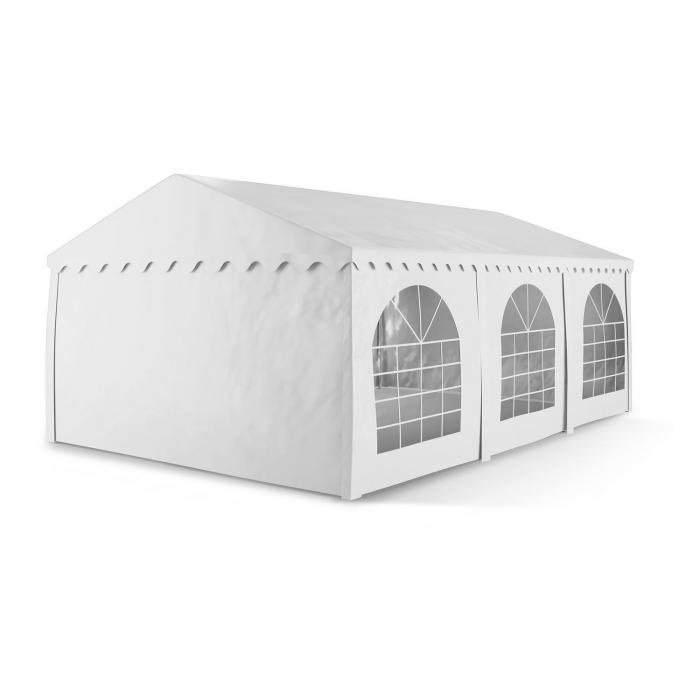 Blumfeldt Sommerfest 4x6m 500 g/m² Namiot imprezowy Namiot stały PCW wodoszczelny ogniotrwały