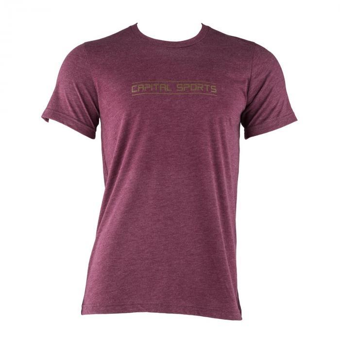 Capital Sports T-shirt treningowy męski rozmiar L kasztanowy