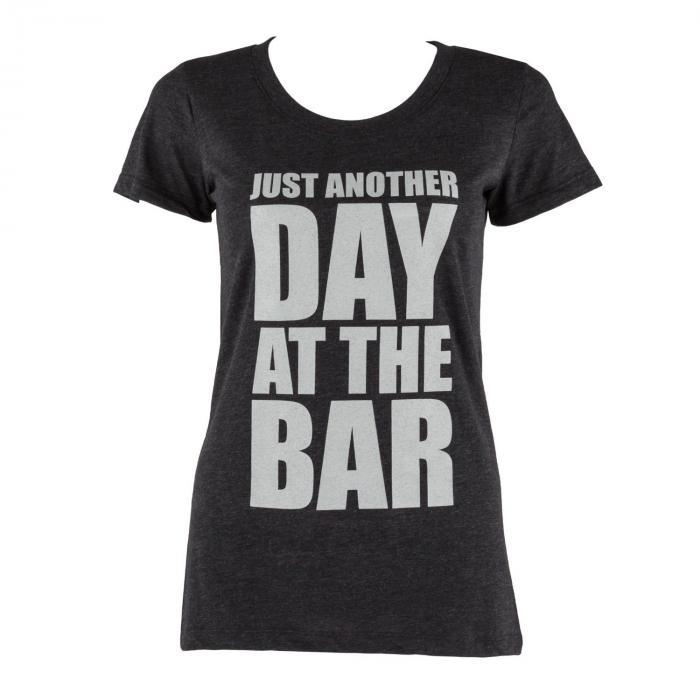 Trainings-T-Shirt für Frauen Size S Schwarz