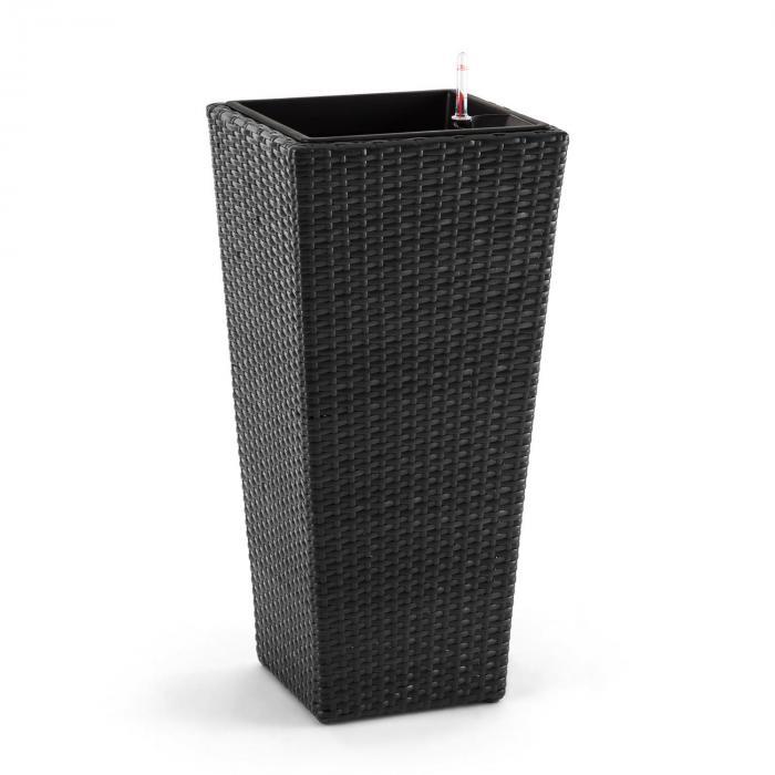 Primaflor Hydro Vaso per Piante 37x76x37 cm Irrigazione Polyrattan antracite