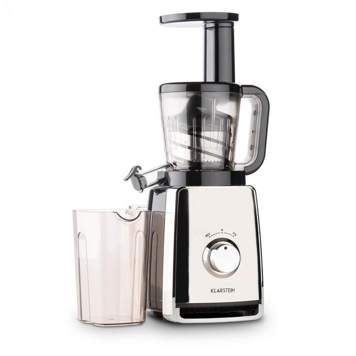 Sweetheart mehupuristin slow juicer 150 W 32 rpm kromi