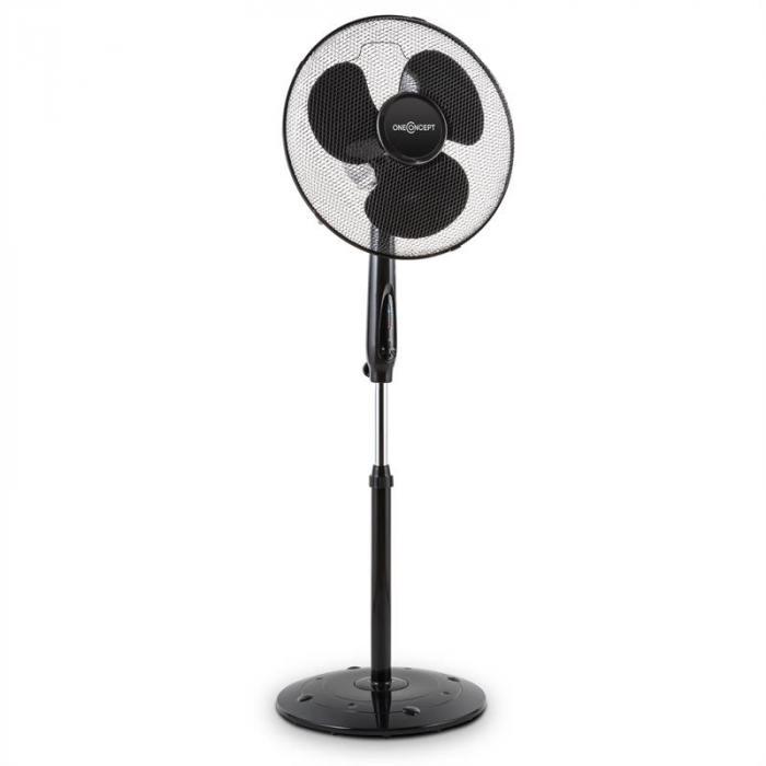 Black Blizzard RC 2G Ventilatore 50 W 41 cm Base Tonda Telecomando