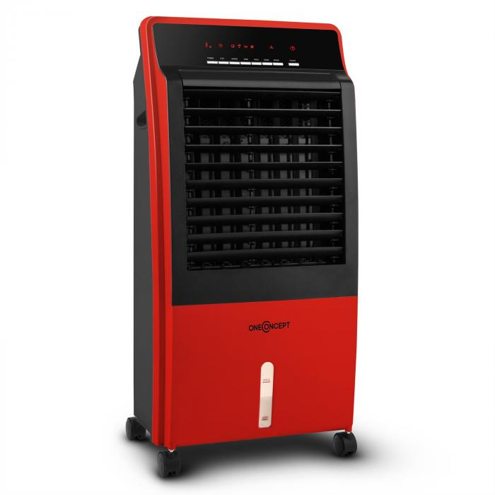 CTR-1 Luchtverfrisser 4-in-1 mobiele airco 65 W Afstandsbediening rood