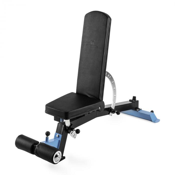Capital Sports Compactar Plus Ławka do ćwiczeń z hantlami Ławka do brzuszków Metal Możliwość dopasowania