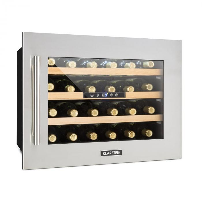 Vinsider 24d Weinkuhlschrank Einbau 1 Kuhlzone 24 Flaschen Edelstahl