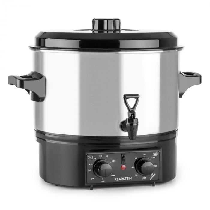 Biggie Small Fully Automatic Cooker Cooking Pot 16 Liter 2000 W Stainless Steel