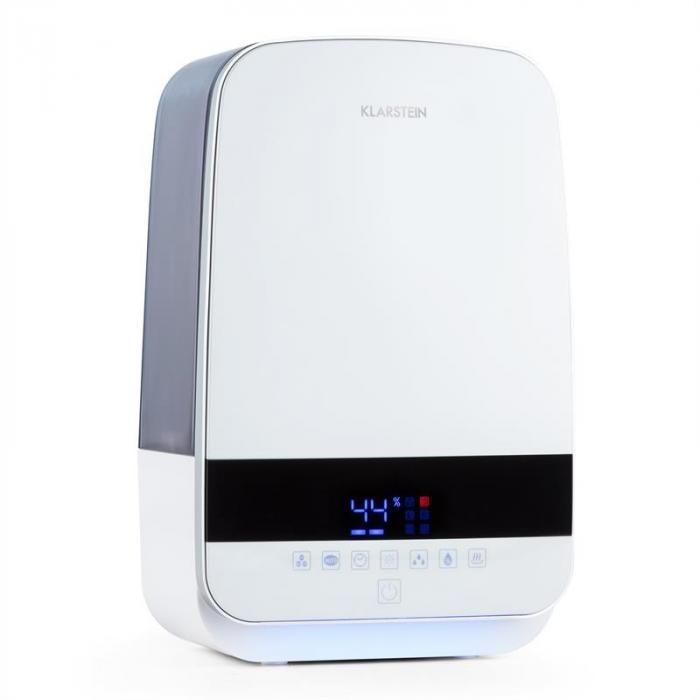 Nibelheim Umidificatore Ultrasuoni Ionizzatore Bianco
