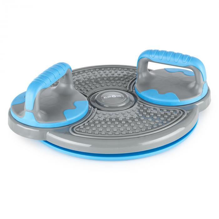 Klartwist Power Twister 3-in-1 Balanceboard PushUp-Bars blau
