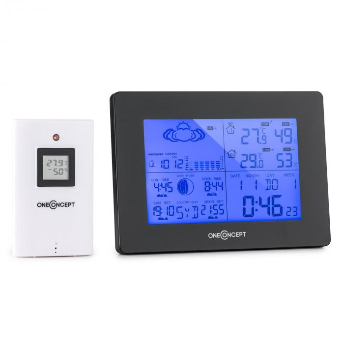 Bergen Wireless Weather Station Battery Alarm incl. Outdoor Sensor