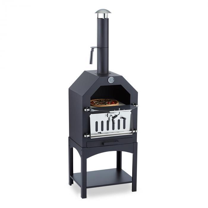 Pizzaiolo Forno Per Pizza Griglia Barbecue Acciaio