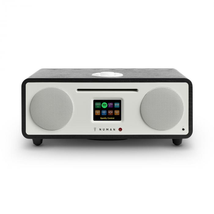 Two 2.1 Radio internet 2.1 CD 30W USB Bluetooth Spotify DAB+ Nero Rovere