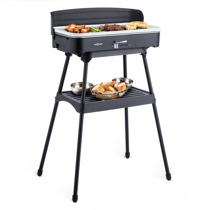 porterhouse barbecue lectrique grill de table 2200w c ramique electronic star fr. Black Bedroom Furniture Sets. Home Design Ideas