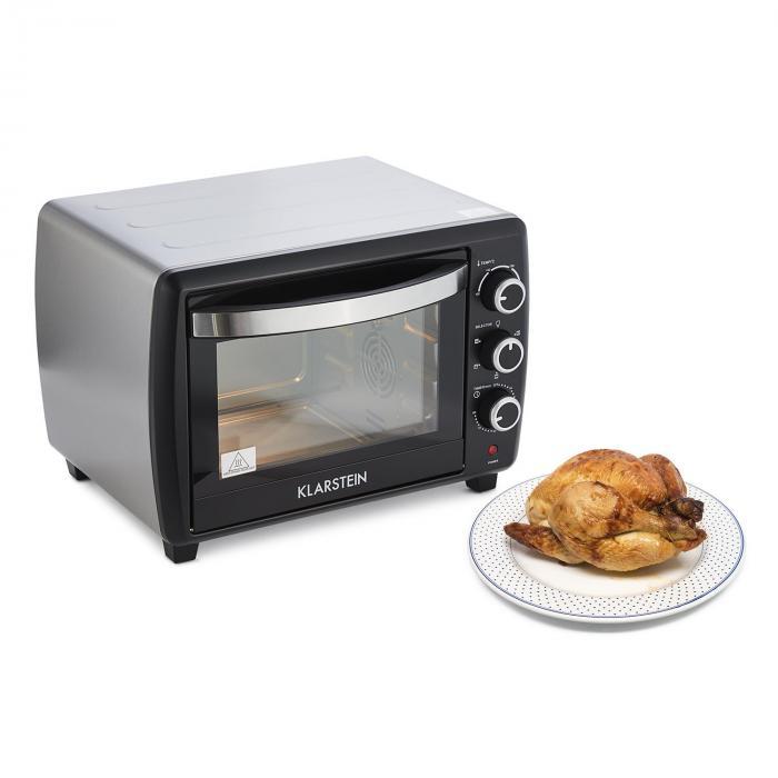 Omnichef 30 2G miniuuni grilli 1500 W 30 l musta