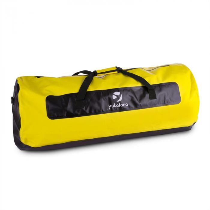 Quintoni 120 Sacca Mare Borsa Sport 120 Litri Impermeabile nero/giallo