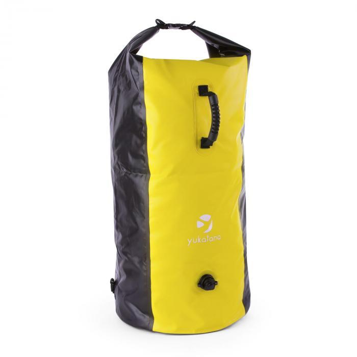 Quintono 100 Trekking-Rucksack Seesack 100 Liter wasserdicht schwarz/ge