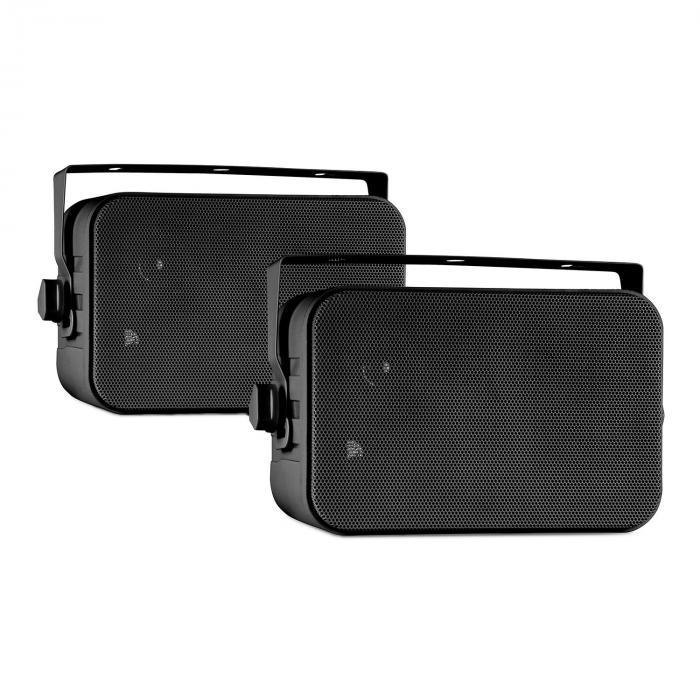 CB105 2-drożny pasywny głośnik maks. 20 W para czarny z pałąkiem montażowym