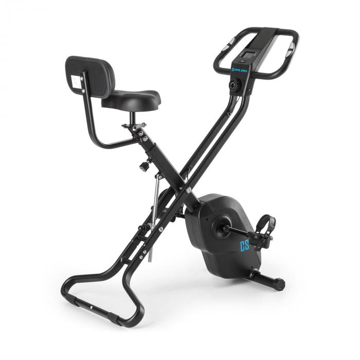 Azura X2 X-Bike fino a 120 kg Misura Polso Pieghevole 4 kg nero