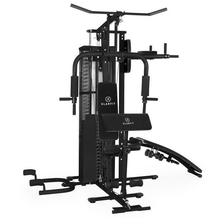Ultimate Gym 5000 multifunktionale Fitness-Station schwarz