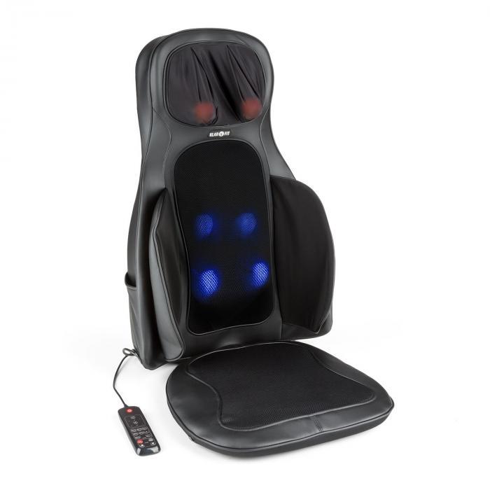 Vanuato Cuscino Massaggio Shiatsu Massaggio 3D Nero