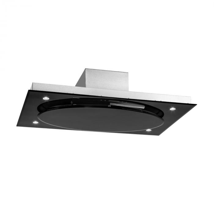 Secret Service Ceiling-Mounted Hood Extractor Hood 220W Touch Glass LED