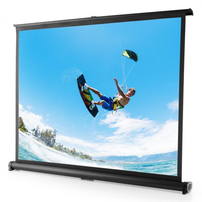FrontStage TSVS 40 ekran projekcyjny stołowy 4:3 81x62 cm czarna kaseta