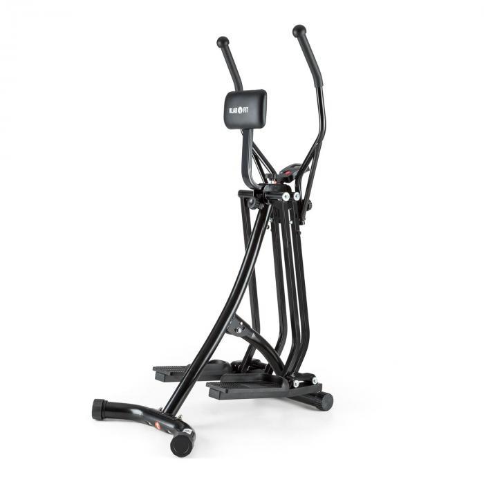 Bogera X crosstrainer ellipsilaite kotikuntoiluun musta