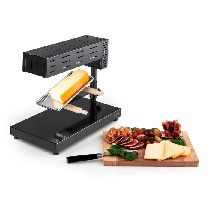 appenzell 2g appareil raclette traditionnel sur pieds 600 w noir electronic star fr. Black Bedroom Furniture Sets. Home Design Ideas