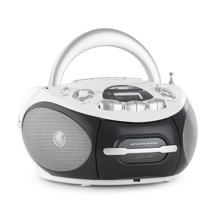 AH-2287 WH Boom Box Radio MP3 USB CD