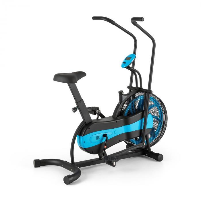 Stormstrike 2k crosstrainer kuntopyörä ergometri maksimikuormitus 120 kg musta